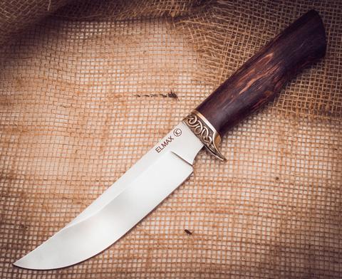 Нож Лесник, карельская береза, сталь ELMAX - Nozhikov.ru