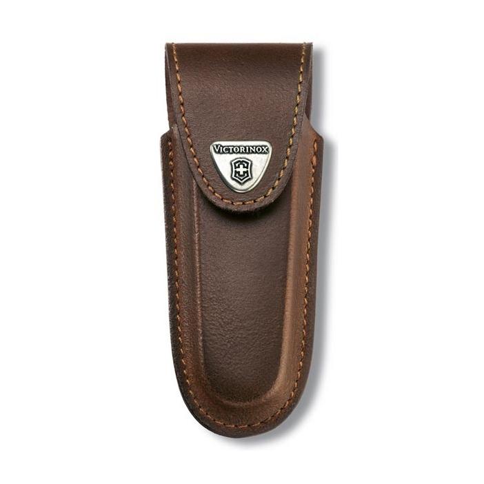 Фото 4 - Чехол для ножа Victorinox Leather Belt Pouch, коричневый