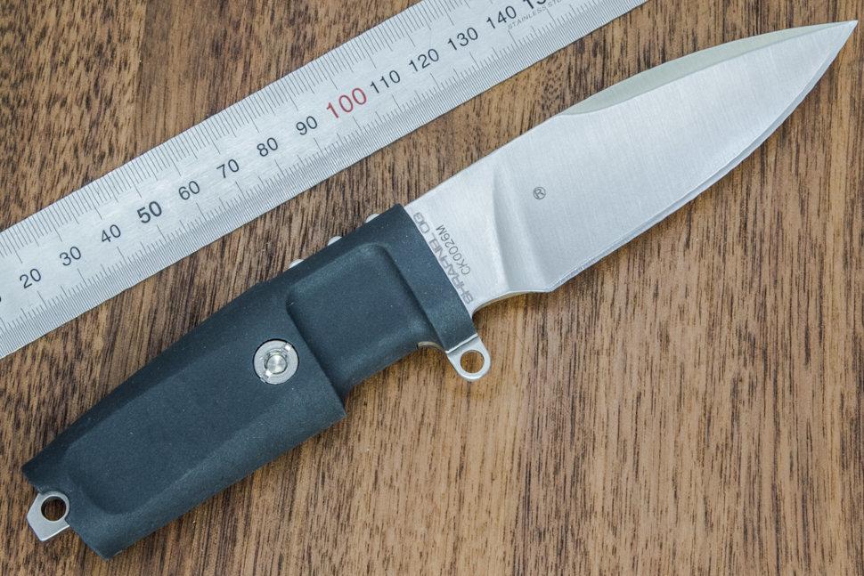 Фото 4 - Нож с фиксированным клинком Extrema Ratio Shrapnel OG, Special Edition, Satin Finish Blade, сталь Bhler N690, рукоять пластик