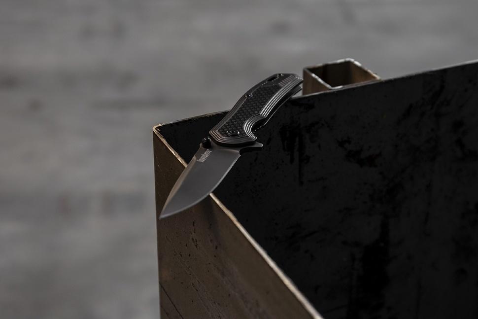 Фото 7 - Нож складной Fringe - Kershaw 8310, сталь 8Cr13MOV, рукоять G-10/карбон