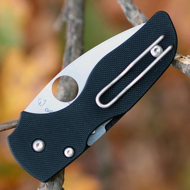 Фото 8 - Складной нож Spyderco Lil' Native, CPM S30V, G10