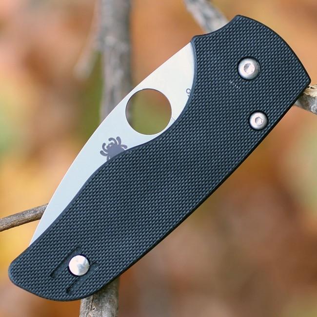 Фото 9 - Складной нож Spyderco Lil' Native, CPM S30V, G10