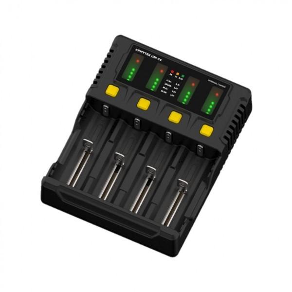 Зарядное устройство Armytek Uni C4 4 канальное