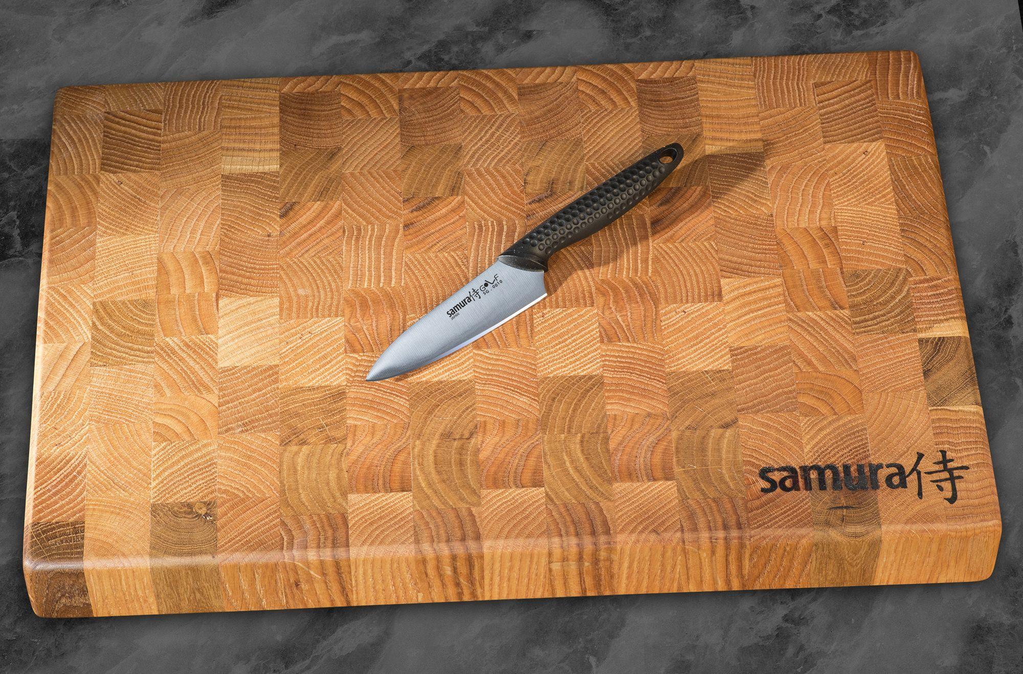 Фото 8 - Нож кухонный овощной Samura GOLF - SG-0010, сталь AUS-8, рукоять полипропилен, 98 мм