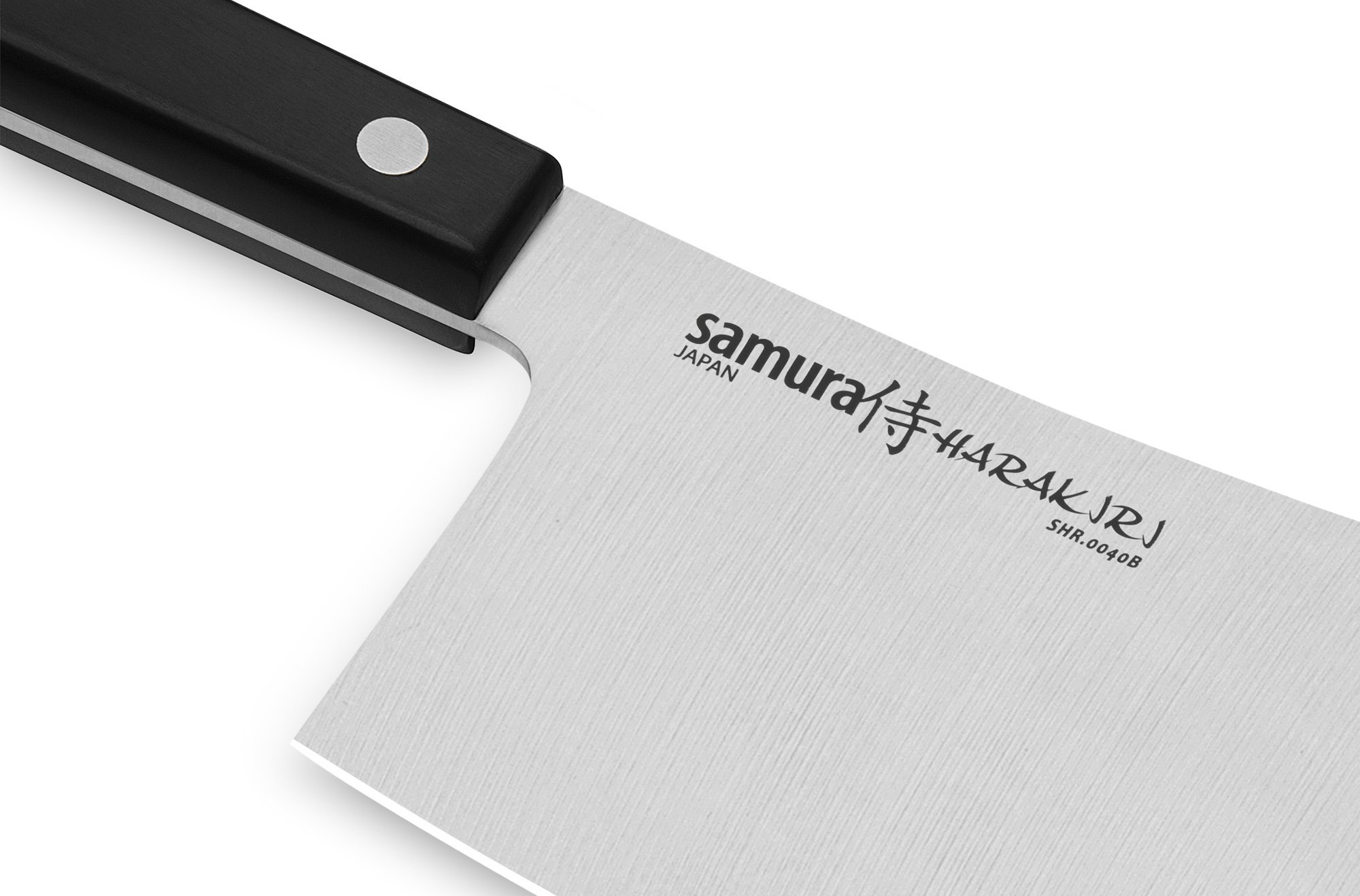 Фото 9 - Нож-топорик кухонный для мяса Samura