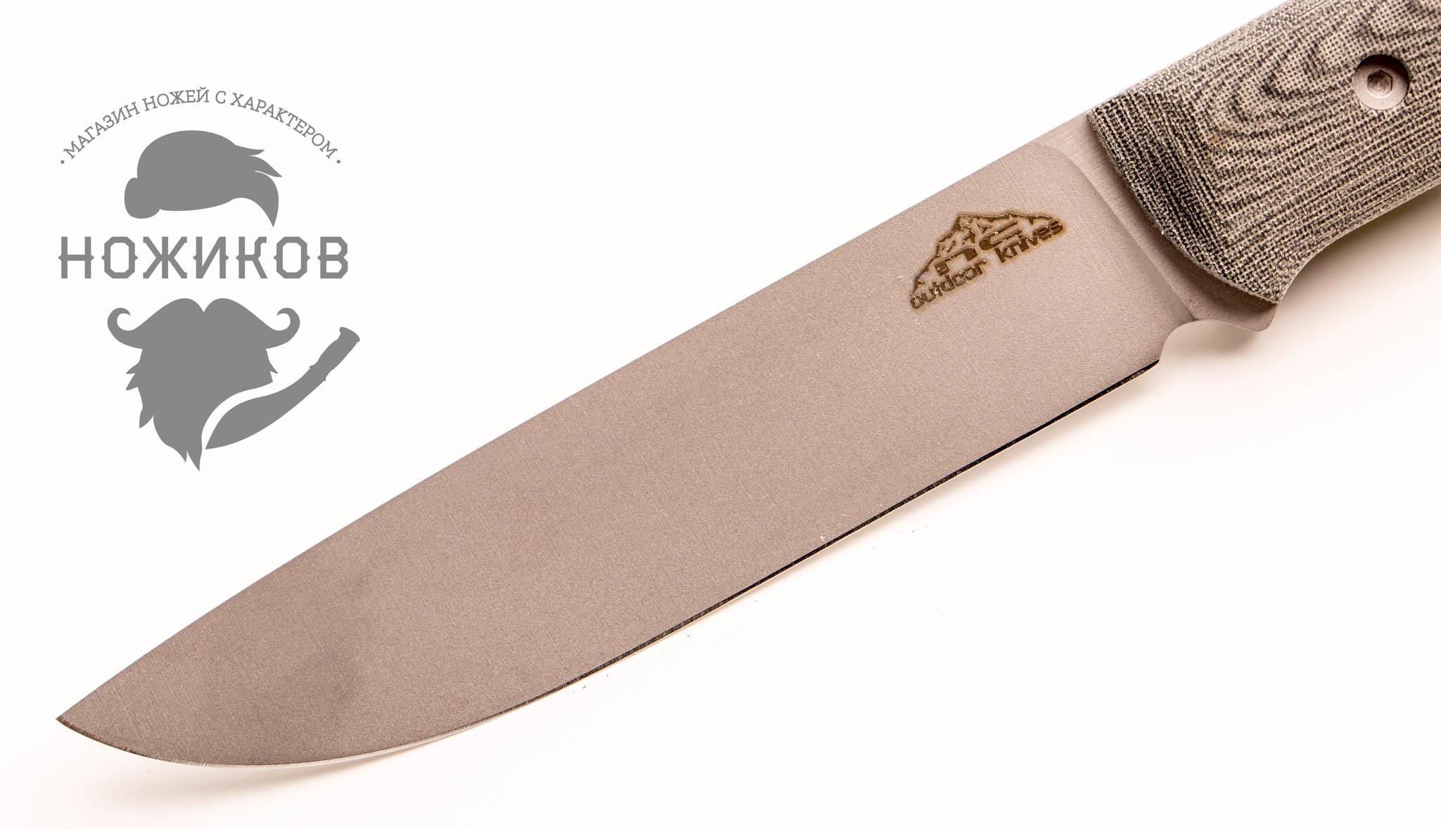 Фото 3 - Нож Camper, микарта , N690 от N.C.Custom