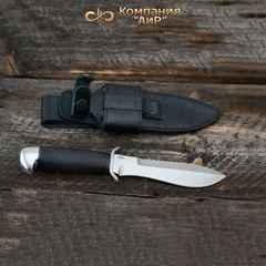 """Нож АиР """"Боец"""", сталь 100х13м, рукоять граб, разборный, фото 1"""