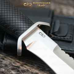 """Нож АиР """"Боец"""", сталь 100х13м, рукоять граб, разборный, фото 3"""