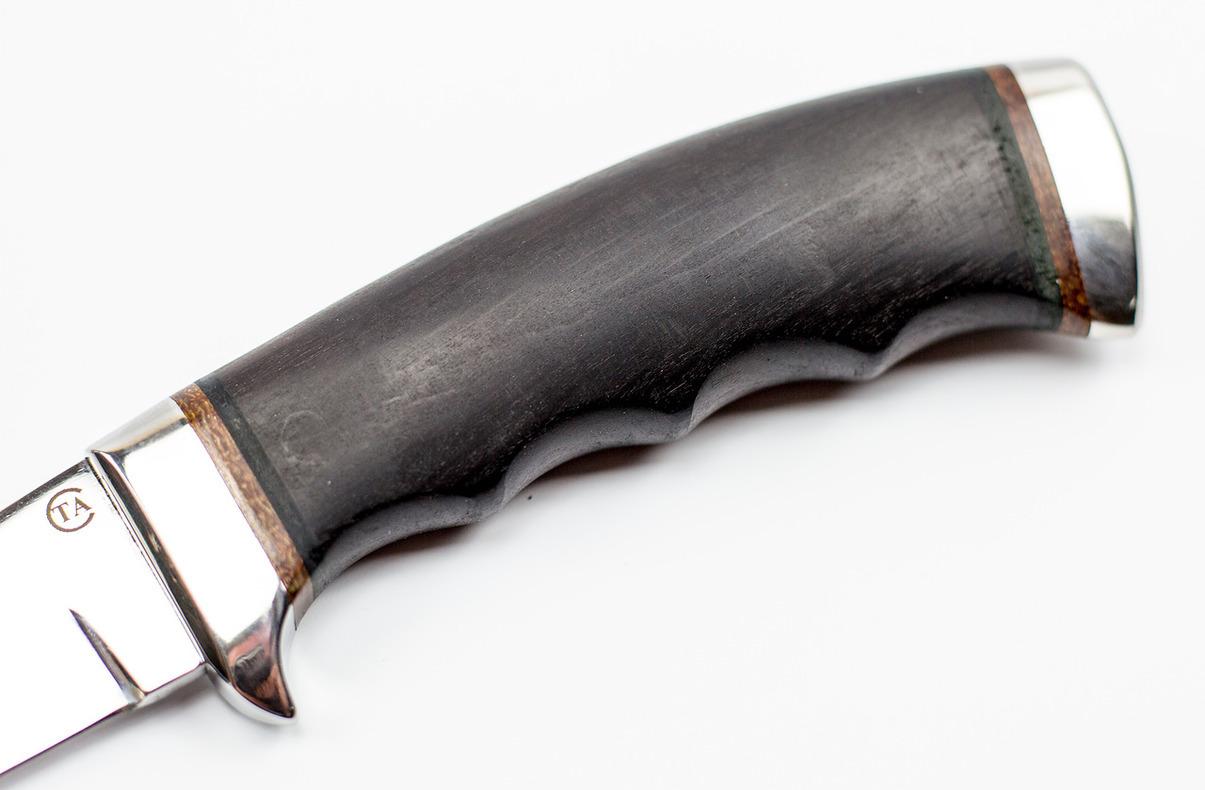 Фото 10 - Нож Аркан Р граб, 95Х18 от Титов и Солдатова