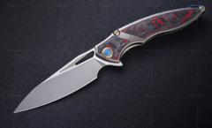 Нож складной RK1902-R от Rike, сталь M390, фото 12