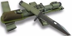 Нож с фиксированным клинком Fulcrum Civilian Bayonet Green