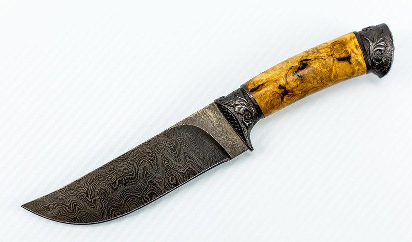 Авторский Нож из Дамаска №35, Кизляр