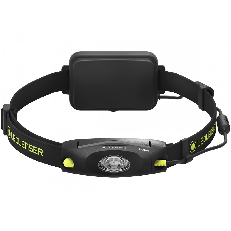Фонарь светодиодный налобный LED Lenser NEO6R, черный, 240 лм, аккумулятор фонарь светодиодный налобный led lenser neo6r синий 240 лм аккумулятор