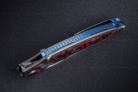 Нож складной RK1902-R от Rike, сталь M390. Вид 14