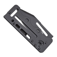 Складной нож Access Card 2.0 - SOG SOGAC77, сталь VG-10, рукоять нержавеющая сталь, чёрный, фото 4