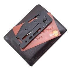 Складной нож Access Card 2.0 - SOG SOGAC77, сталь VG-10, рукоять нержавеющая сталь, чёрный, фото 2