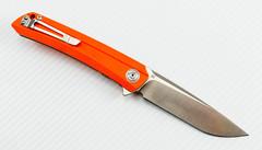 Складной нож CH3002 сталь D2, оранжевый