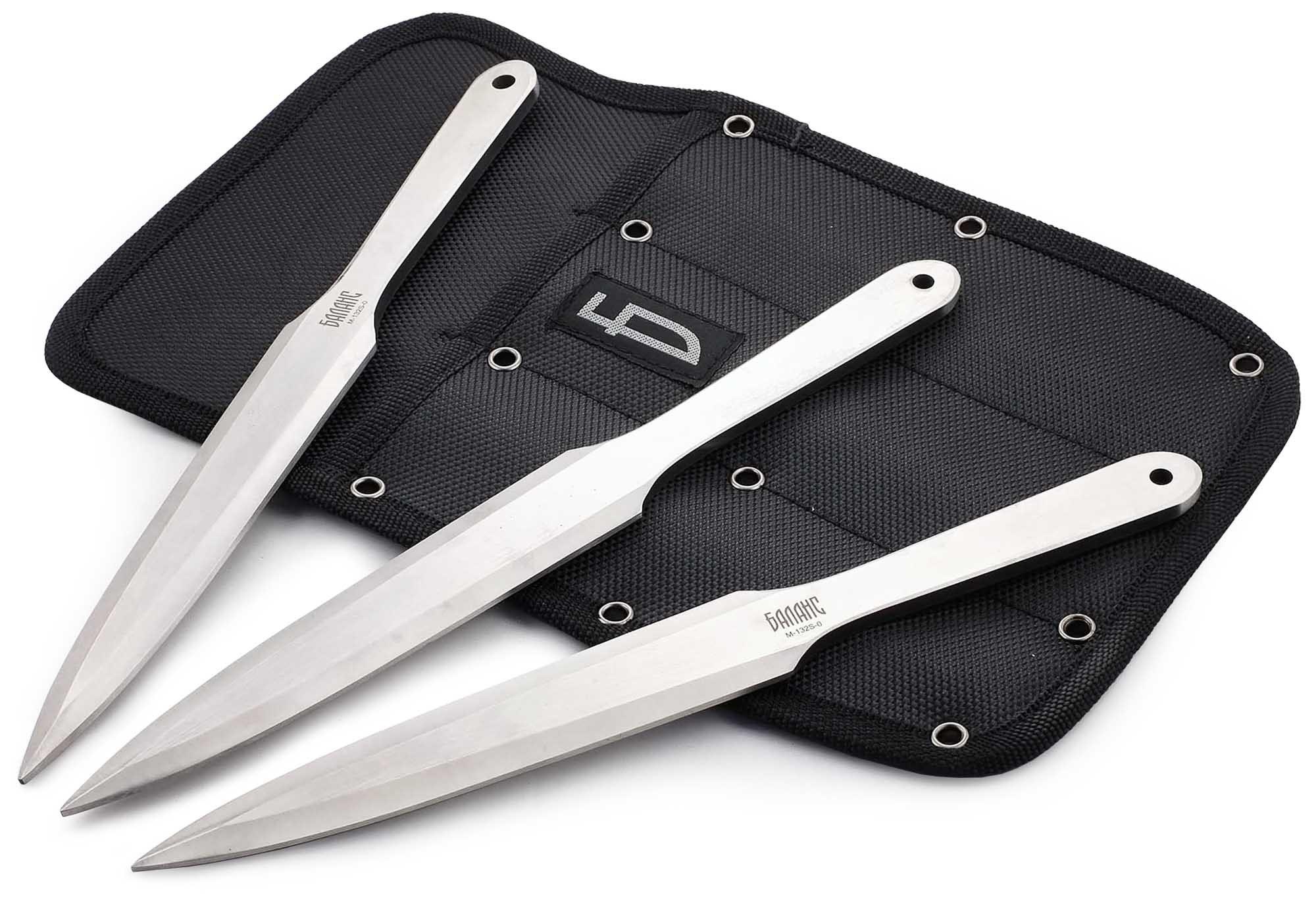 Набор из 3 метательных ножей,M-132S-0 цена в Москве и Питере
