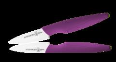 Керамический нож Hatamoto Home, 70мм, фиолетовый
