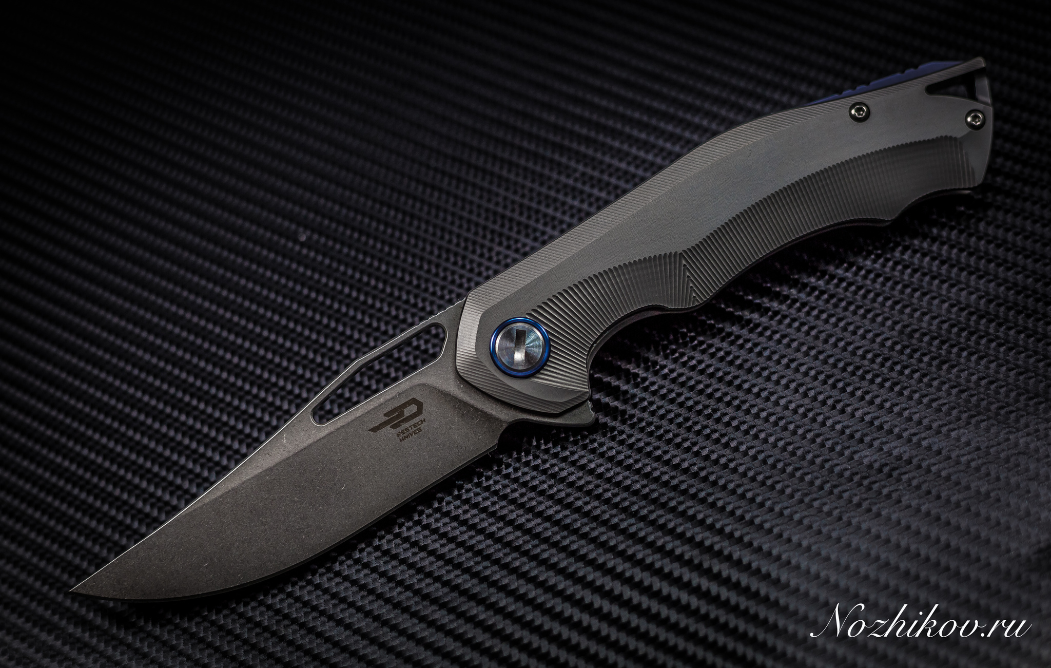 Складной нож Bestech Tercel BT1708B, сталь CPM-S35VN, рукоять титан