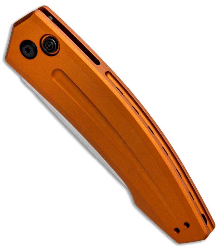 Фото 6 - Полуавтоматический складной нож Launch 2 - Kershaw 7200EBSW Earth Brown, сталь Crucible CPM® 154, рукоять анодированный алюминий, песочный
