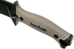 Кукри мачете Camp 10 TAN - Kershaw 1077TAN, сталь 65MN Carbon, рукоять прорезиненный термопластик, коричневый, фото 9