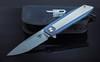 Складной нож Bestech Knives Shogun BT1701С, сталь CPM-S35VN, рукоять титан - Nozhikov.ru
