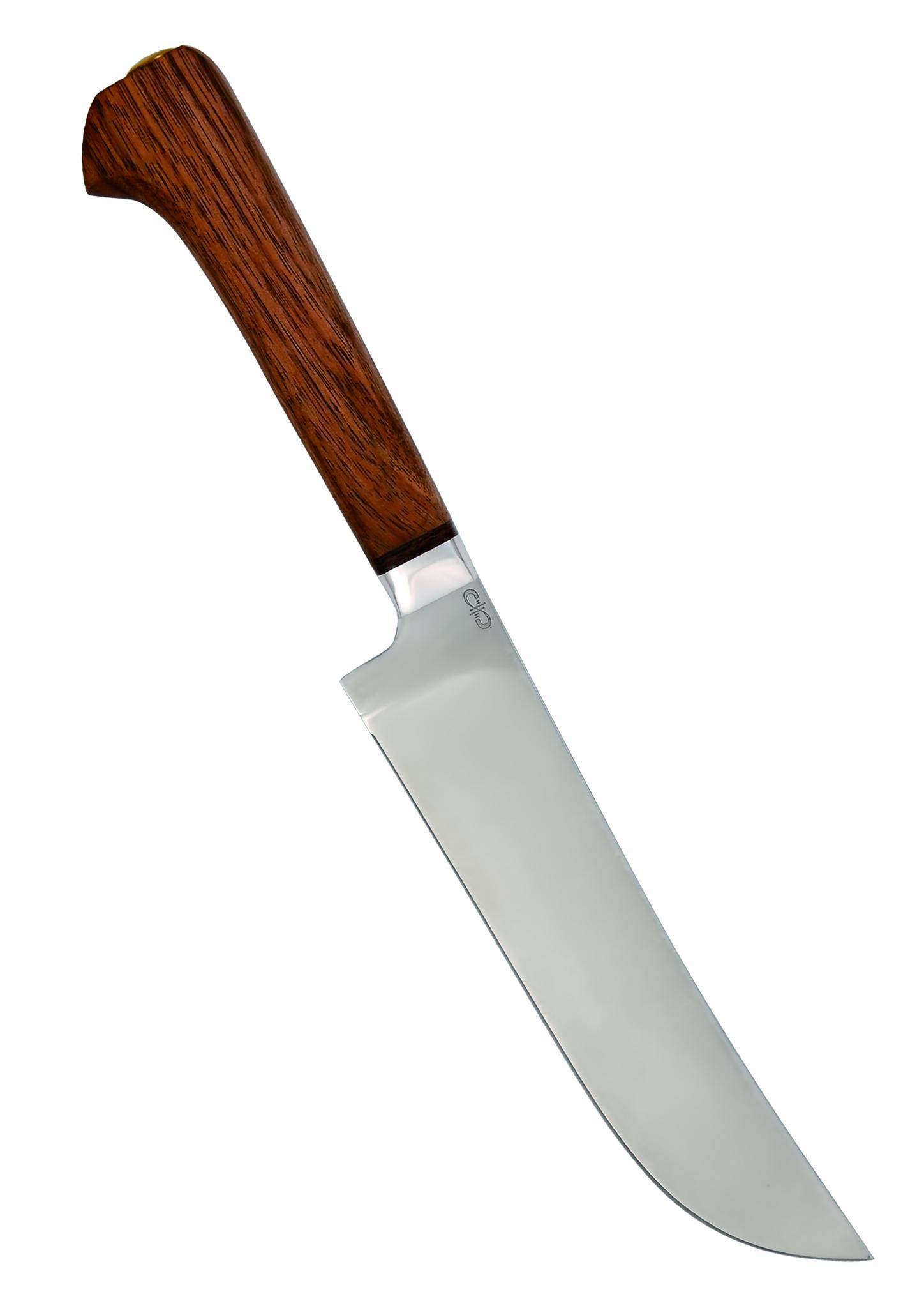 Нож разделочный Пчак, рукоять дерево, АиР