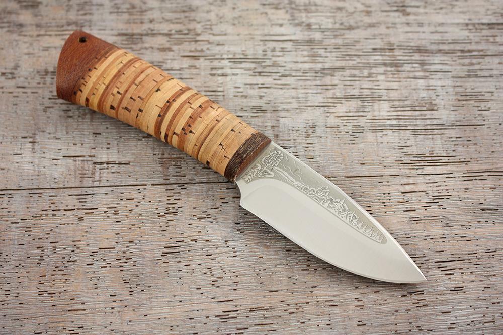 Нож разделочный Добрый береста, АиР нож разделочный белуга береста аир
