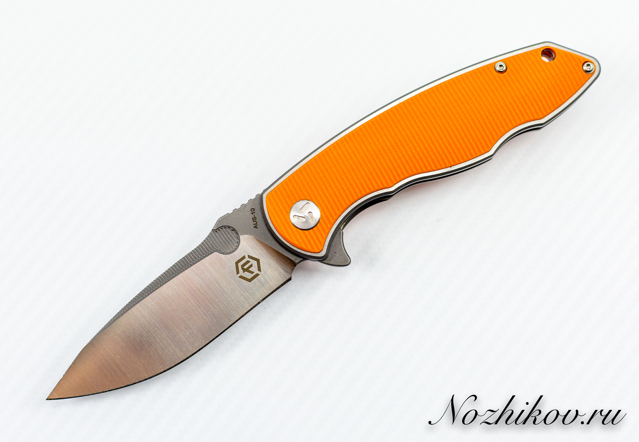 Складной нож Bestech Factor Equipment Hardened Orange цена
