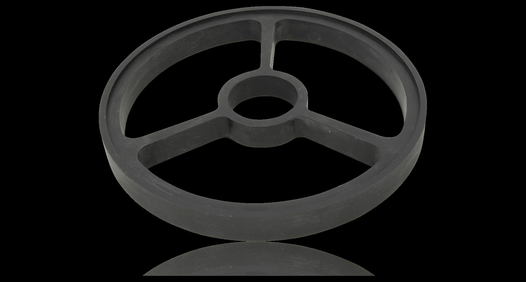 Фото 2 - Подставка для камней (QA-0060, QA-0061, QA-0062) 220*23мм плоский круг, Togi Zyozu