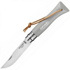 Складной Нож Opinel №6 Trekking, нержавеющая сталь Sandvik 12C27, граб, 002202, серый, фото 1