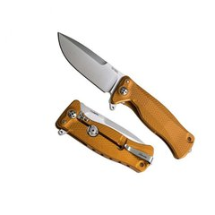 Нож складной SR-11 Ball-Bearing Flipper, Orange Solid® Aluminum Handle, Satin Finish Sleipner Stainless Steel-2