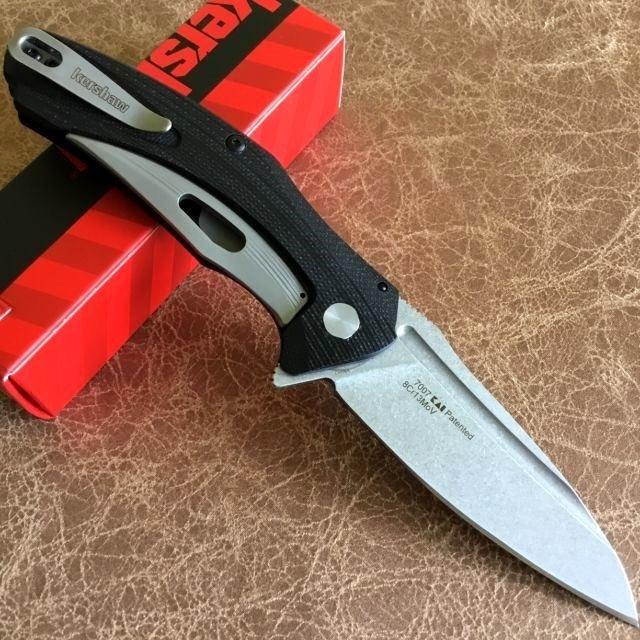Фото 5 - Складной полуавтоматический нож Kershaw Natrix K7007, сталь 8Cr13MoV, рукоять G-10
