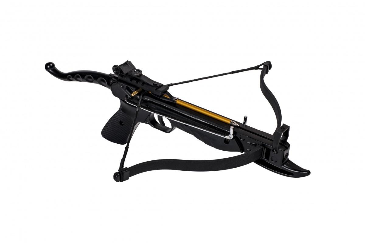 Арбалет-пистолет Скаут (Cobra Aluminum), черный крючки cobra allround ca126 004 10 шт