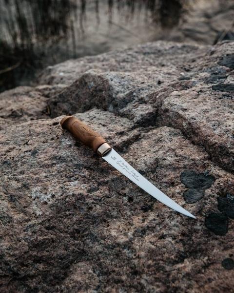 Фото 11 - Нож филейный Marttiini SUPERFLEX, сталь X46Cr13, рукоять береза