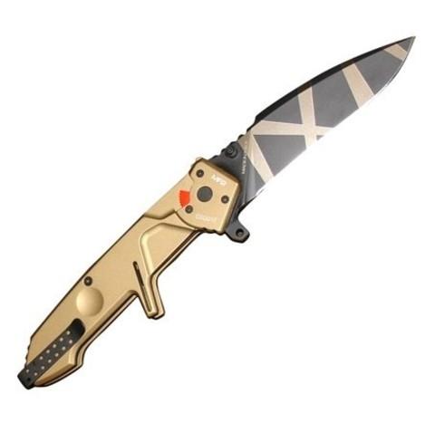 Складной нож Extrema Ratio MF2 Desert Warfare, сталь Böhler N690, рукоять алюминий. Вид 1