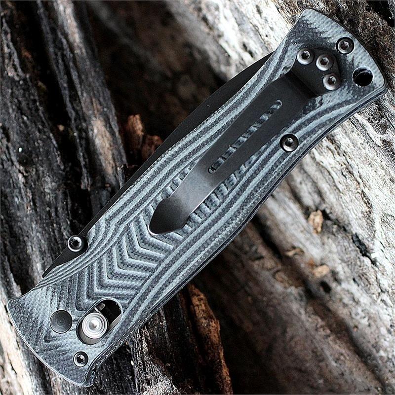Фото 5 - Складной нож Benchmade 531BK Pardue Black, сталь 154CM, рукоять G10