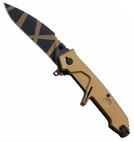 Складной нож Extrema Ratio MF2 Desert Warfare, сталь Böhler N690, рукоять алюминий. Вид 2