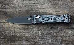 Складной нож Benchmade 531BK Pardue Black, сталь 154CM, рукоять G10, фото 1