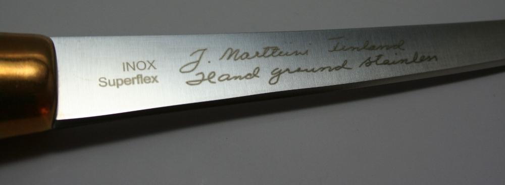 Фото 7 - Нож филейный Marttiini SUPERFLEX, сталь X46Cr13, рукоять береза