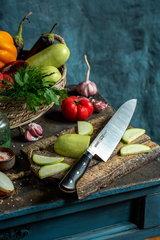 "Нож кухонный ""Samura Pro-S"" Гранд Шеф 240 мм, G-10, фото 2"