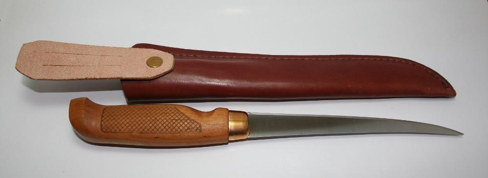 Фото 9 - Нож филейный Marttiini SUPERFLEX, сталь X46Cr13, рукоять береза