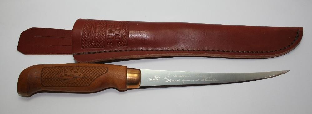 Фото 10 - Нож филейный Marttiini SUPERFLEX, сталь X46Cr13, рукоять береза