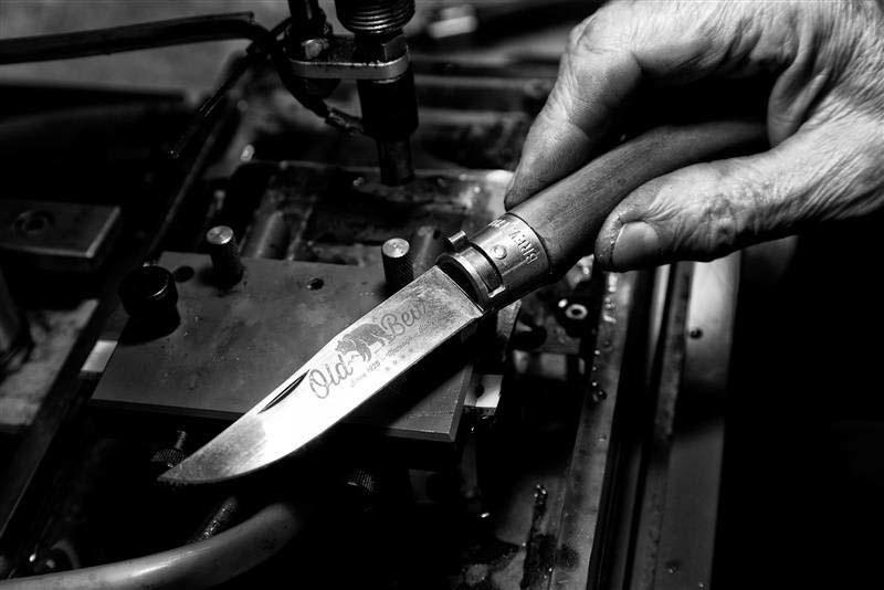 Фото 7 - Складной нож Antonini Old Bear® Olive M, сталь Hardened Aisi 420, рукоять оливковое дерево
