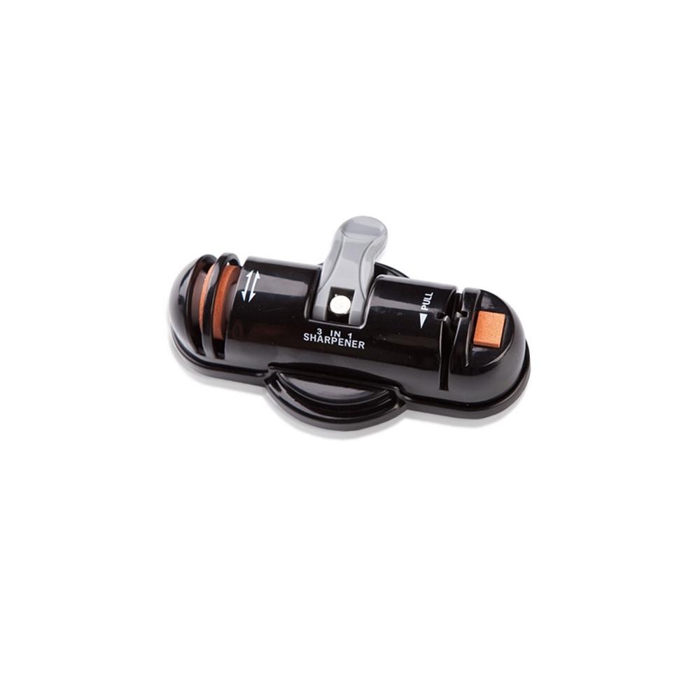 Точилка трёхфункциональная orix электрическая точилка для керамических и стальных ножей