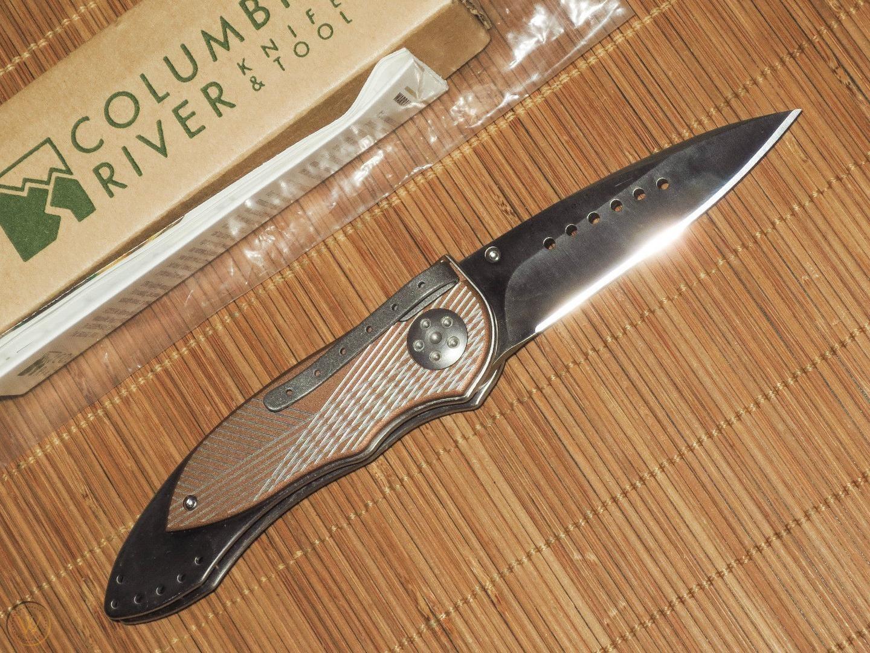 Фото 9 - Складной нож CRKT Elishewitz E-Lock Bronze, сталь AUS-8, рукоять сталь 420J2