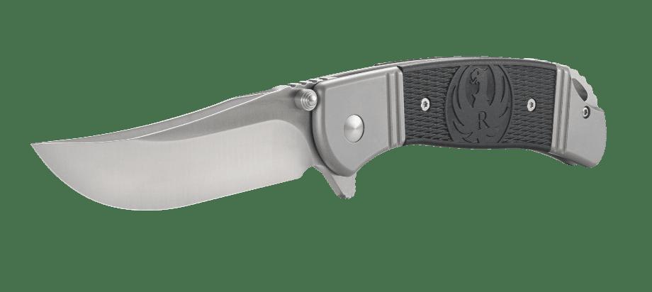 Фото 14 - Складной нож CRKT R2301 Ruger® Knives Hollow-Point™ +P, сталь 8Cr14MOV, рукоять нержавеющая сталь/термопластик