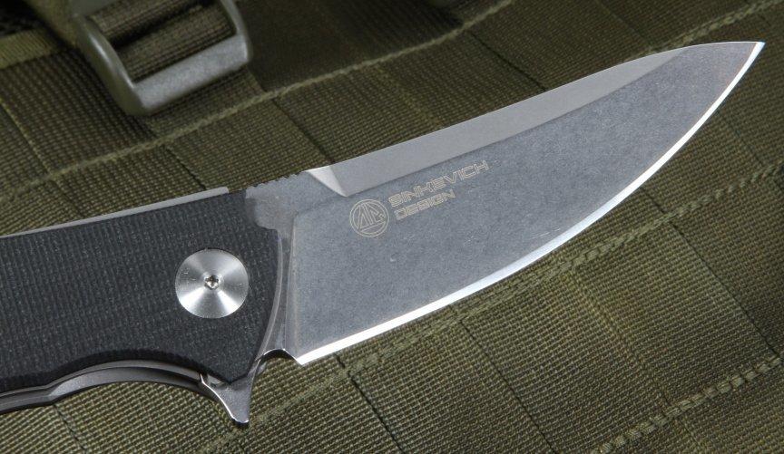 Фото 9 - Нож складной Fantoni, C.U.T. Flipper, FAN/CUTFLBkBk, сталь CPM-S30V, рукоять стеклотекстолит G-10