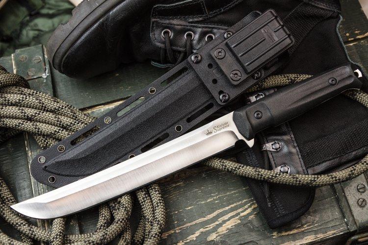 Фото 10 - Нож Sensei AUS-8 Satin+SW, Кизляр от Kizlyar Supreme